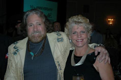 Dan Haggerty and Samantha Hilton