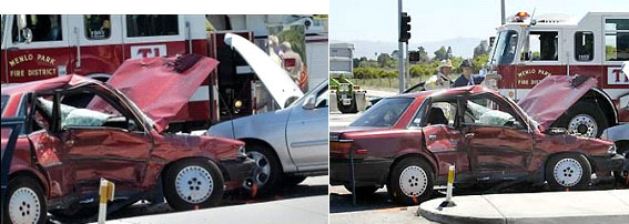 David Halberstam car crash