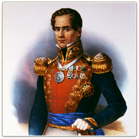 a biography and life work of santa anna a general and president of mexico