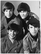 Davy Jones with The Monkees