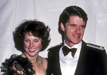 Dean Paul Martin and Dorothy Hamill