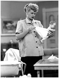 Lucille Ball pregnant