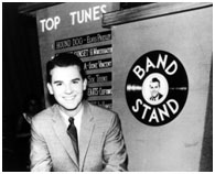 Dick Clark when he started as the host of Bandstand