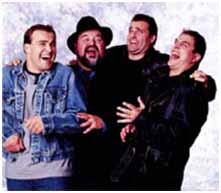 Dom DeLuise with his 3 sons