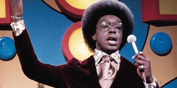 Don Cornelius Hosting Soul Train