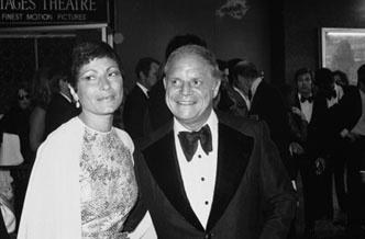 Don Rickles with Barbara Sklar