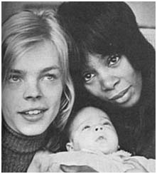 Donna Summer with husband and daughter