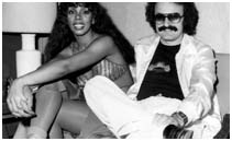 Donna Summer with Giorgio Moroder