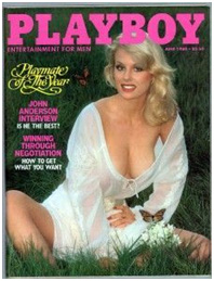 Dorothy Stratten on cover of playboy in 1980