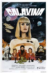 Galaxina movie poster