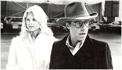 Dorothy Stratten with Peter Bogdanavich