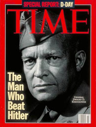 Dwight Eisenhower on cover of TIME Magazine