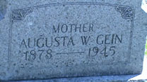 Ed Gein mother's grave