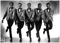 The temptations performing