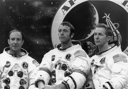 Edgar Mitchell as part of the Apollo 14 mission