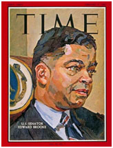 Edward Brooke on cover of TIME Magazine