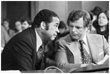Edward Brooke and ted Kennedy