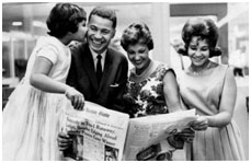 Edward Brooke and family