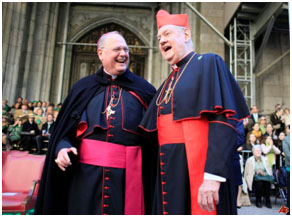 Cardinals Egan and Cardinal Dolan