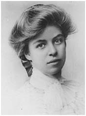 Eleanor Roosevelt around age 14