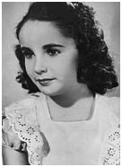 Elizabeth Taylor as a child