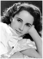 Elizabeth Taylor as a teenager