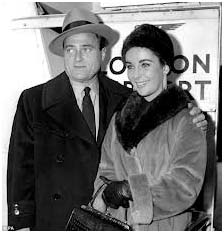 Elizabeth Taylor with Mike Todd