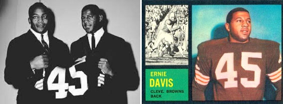 Ernie Davis with the Browns