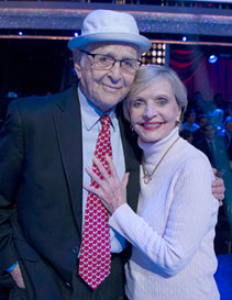 Florence Henderson on DWTS set 3 days prior to death