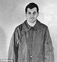 Francis Gary Powers when he was a captured prisoner in the U.S.S.R.
