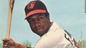 Frank Robinson with the Orioles