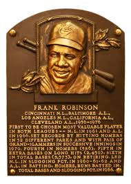 Frank Robinson hall of fame plaque