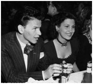 Frank Sinatra with Nancy Barbato