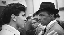 Frank Sinatra Jr. and his father