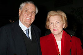 Garry Marshall and Barbara Wells