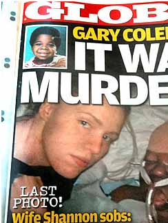 Gary Coleman on cover of Globe magazine after his death