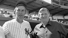 Gene Michael and George Steinbrenner