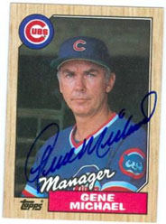 Gene Michael managing the Cubs