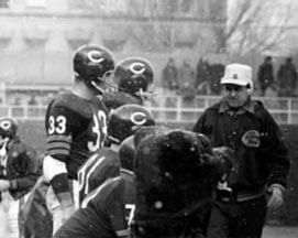 George Allen as a coach with the Bears