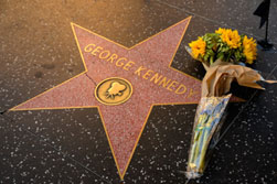 George Kennedy star on the Hollywood Walk of Fame