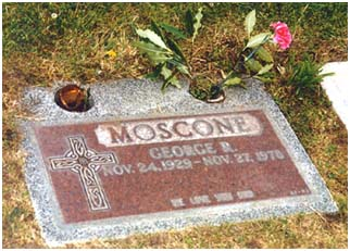 George Moscone Burial Site