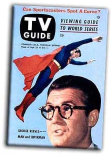 George Reeves on the cover of TV Guide