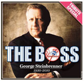 George Steinbrenner, 'The Boss' tribute on cover of the newspaper