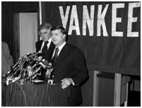 George Steinbrenner after he bought the yankees