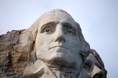 Washington on Mount Rushmore