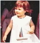 Gia Carangi when she was a toddler