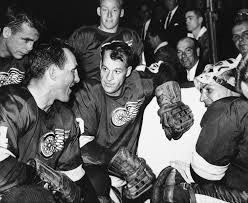 Gordie Howe with the Red Wings, 1946