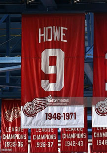 Gordie Howe nhl stats at time of retirement