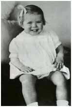 Grace Kelly's baby picture