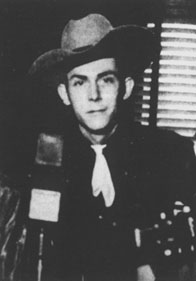 Hank Williams on the radio